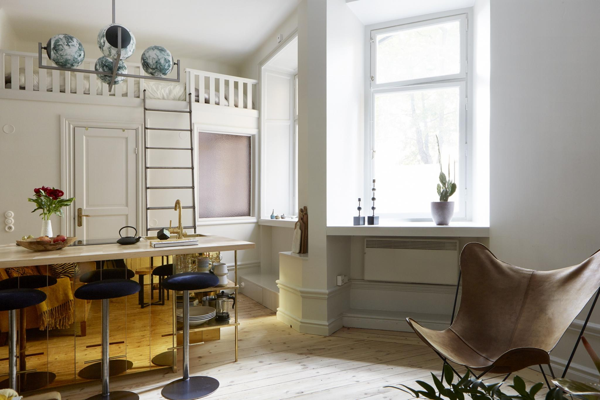 Tiny Living – Small-Space Tricks for a Studio Apartment – Inattendu