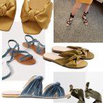 Velvet & Satin Sandals