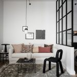 An Apartment with Black and Neutral Colours