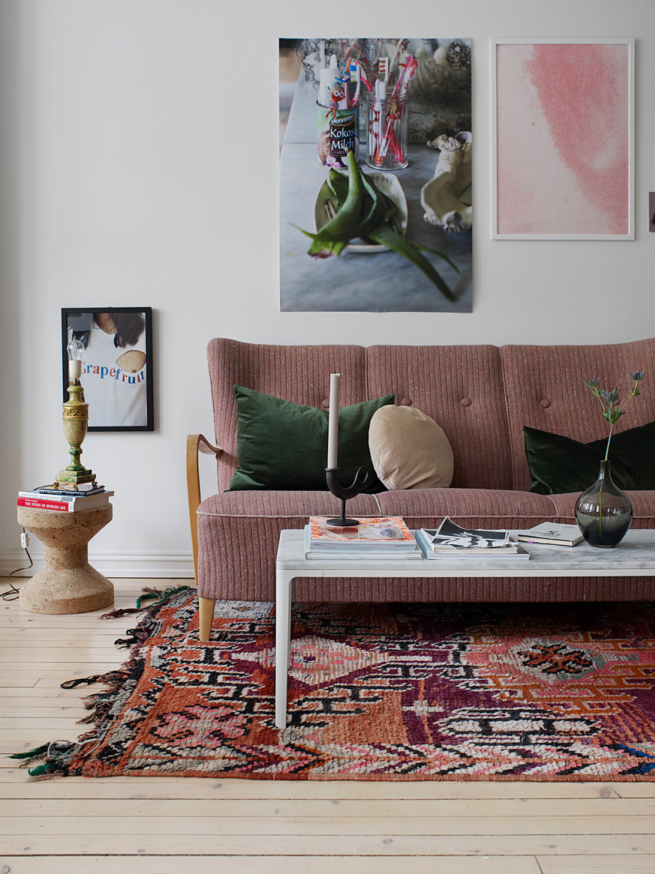 Interior Stylist Birgit Fauske's Bohemian Home