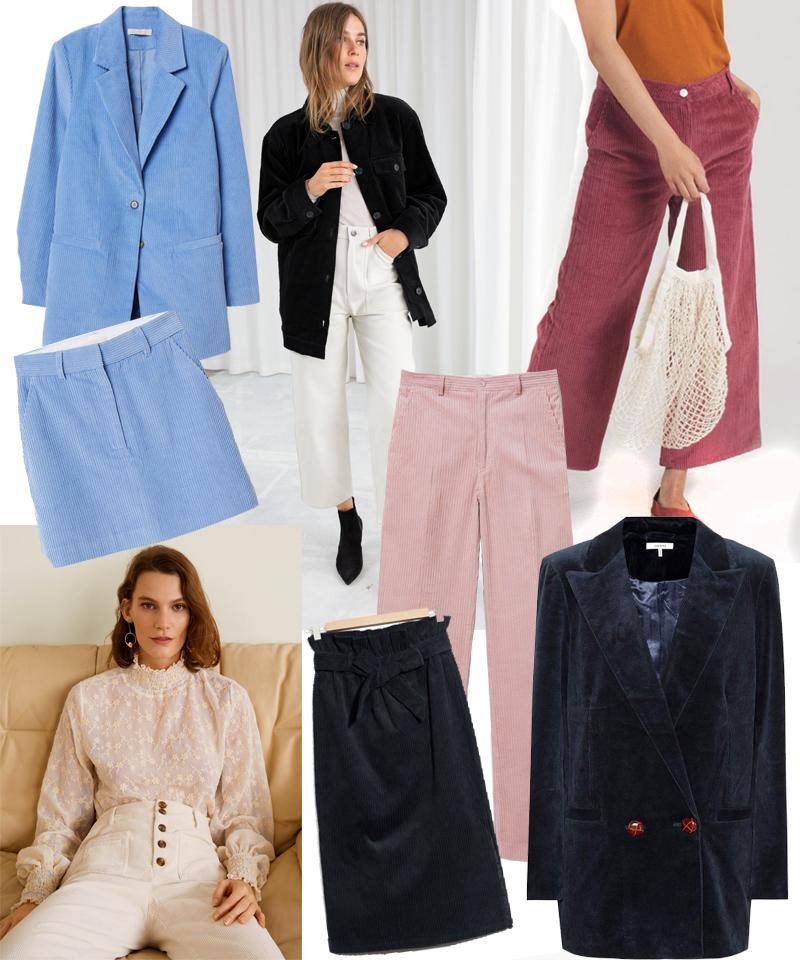 Corduroy Fashion Items
