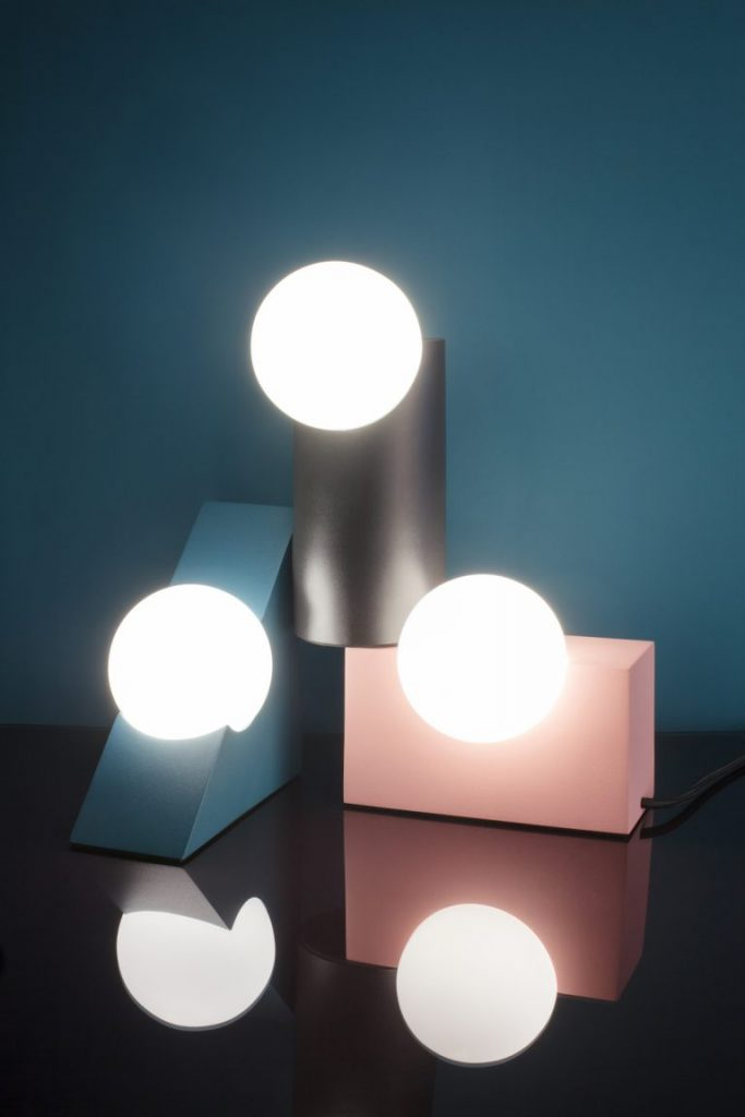 Geometric Table Lamps
