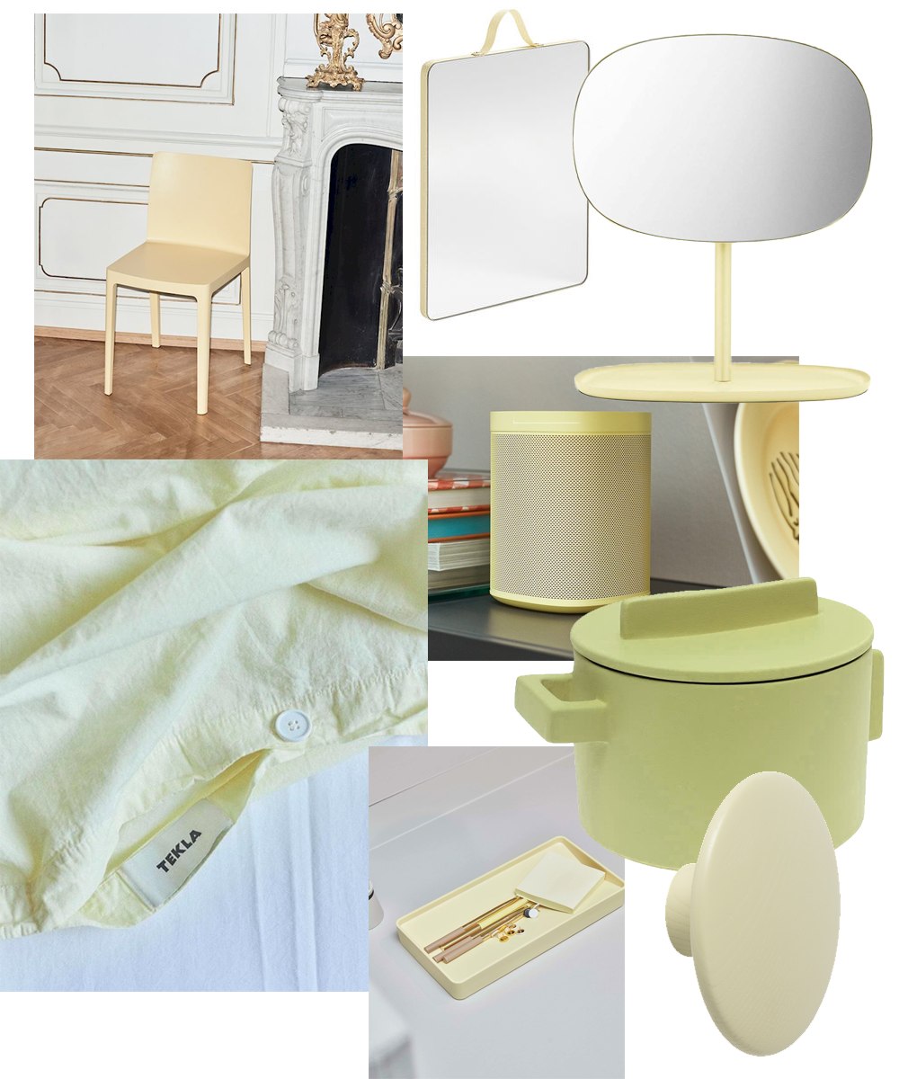 Trendwatch Pale Yellow Furniture and Accessories