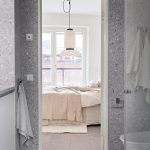 A Swedish Apartment starring a Terrazzo Bathroom