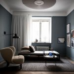Cozy Apartment With Blue Walls